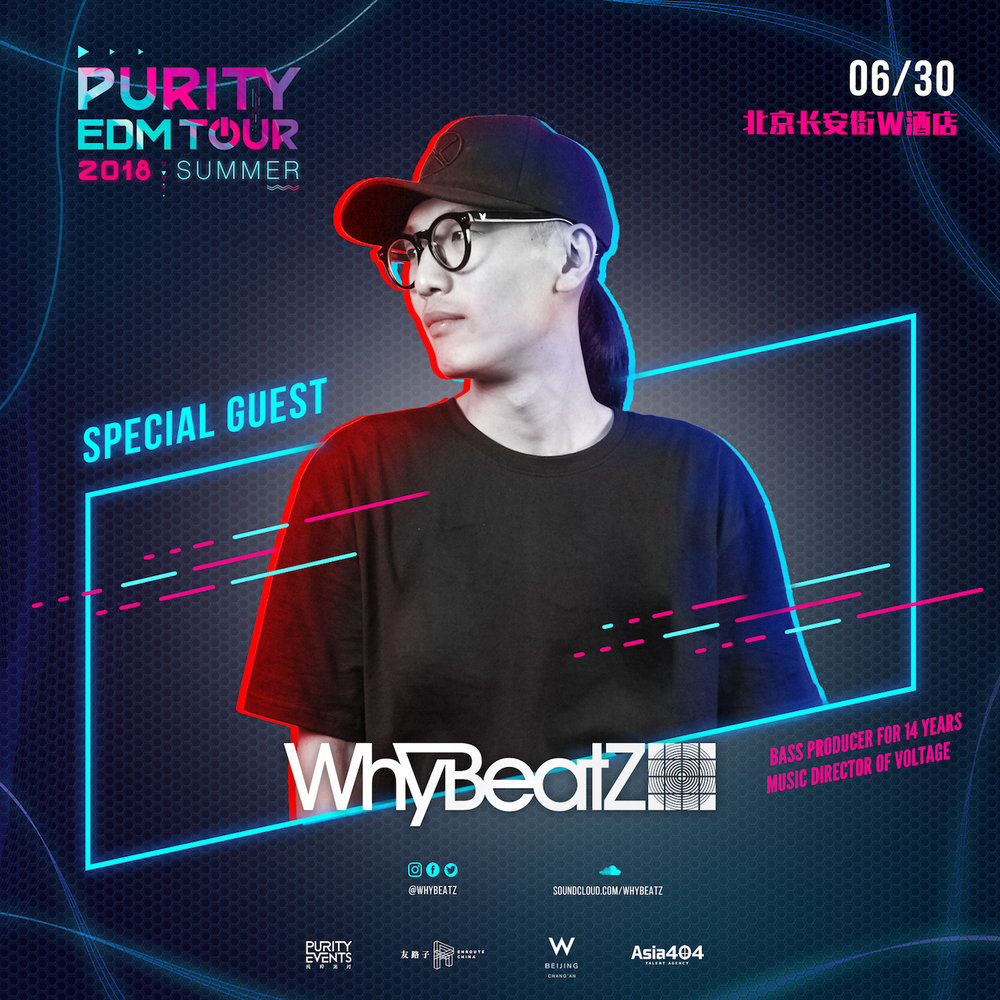 PURITY EDM TOUR 2018: WhyBeatZ