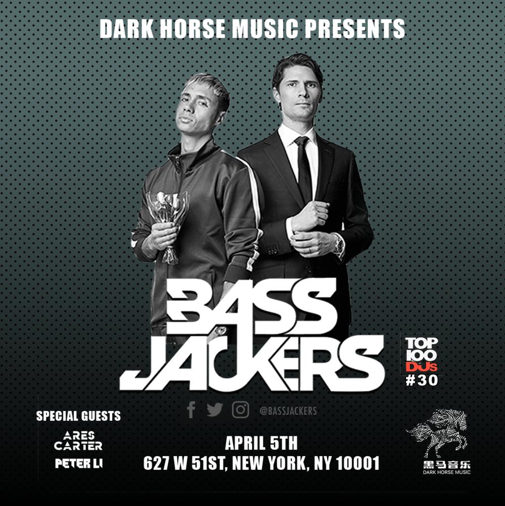 Bassjackers at Club 57  Apr. 05th, 2019