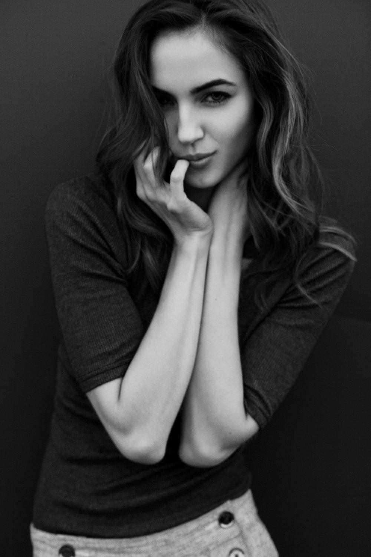 maria montgomery - model test shoot