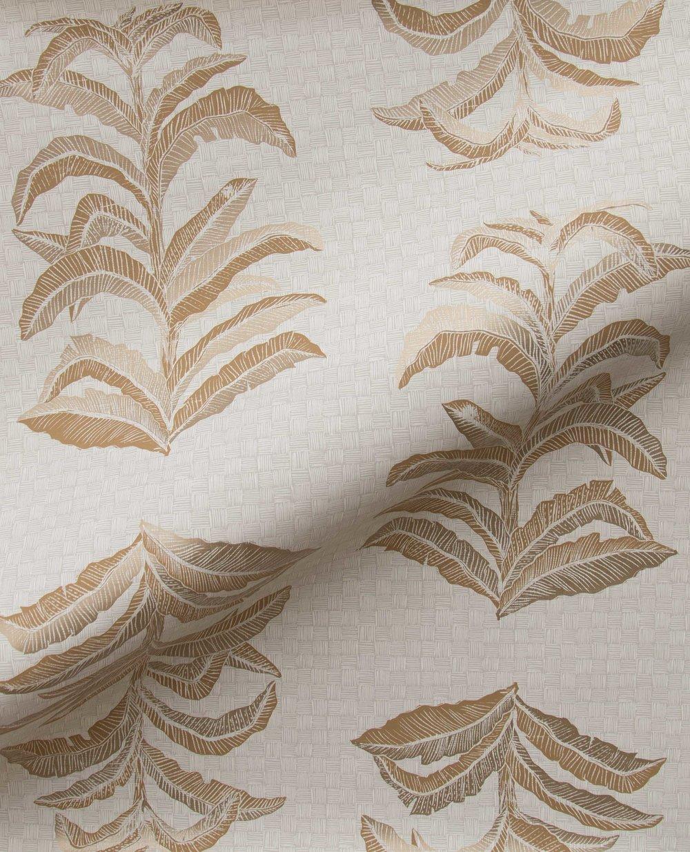 Krane Home_Banana Leaf Gold Wallpaper-3.jpeg