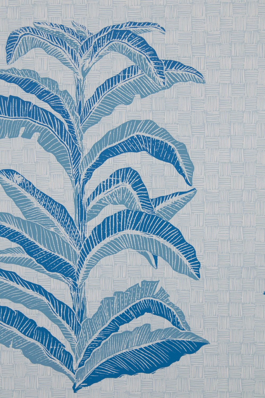 Krane Home_Banana Leaf Sapphire Wallpaper-3.jpeg