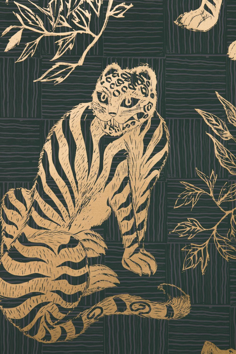 Krane Home_Tiger and Magpie Hunter Wallpaper-2.jpeg