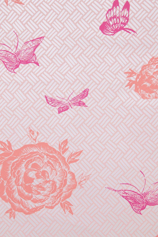 Krane Home_Flora Coral Pink Wallpaper-2.jpeg