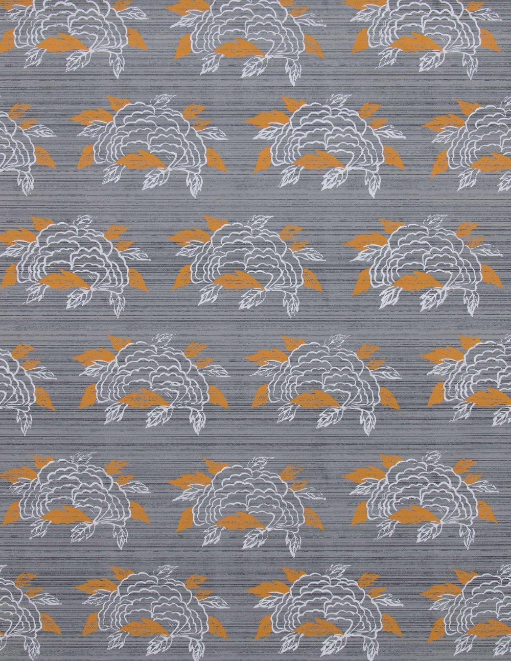 Chrysanthemum in French Grey, SL130-01