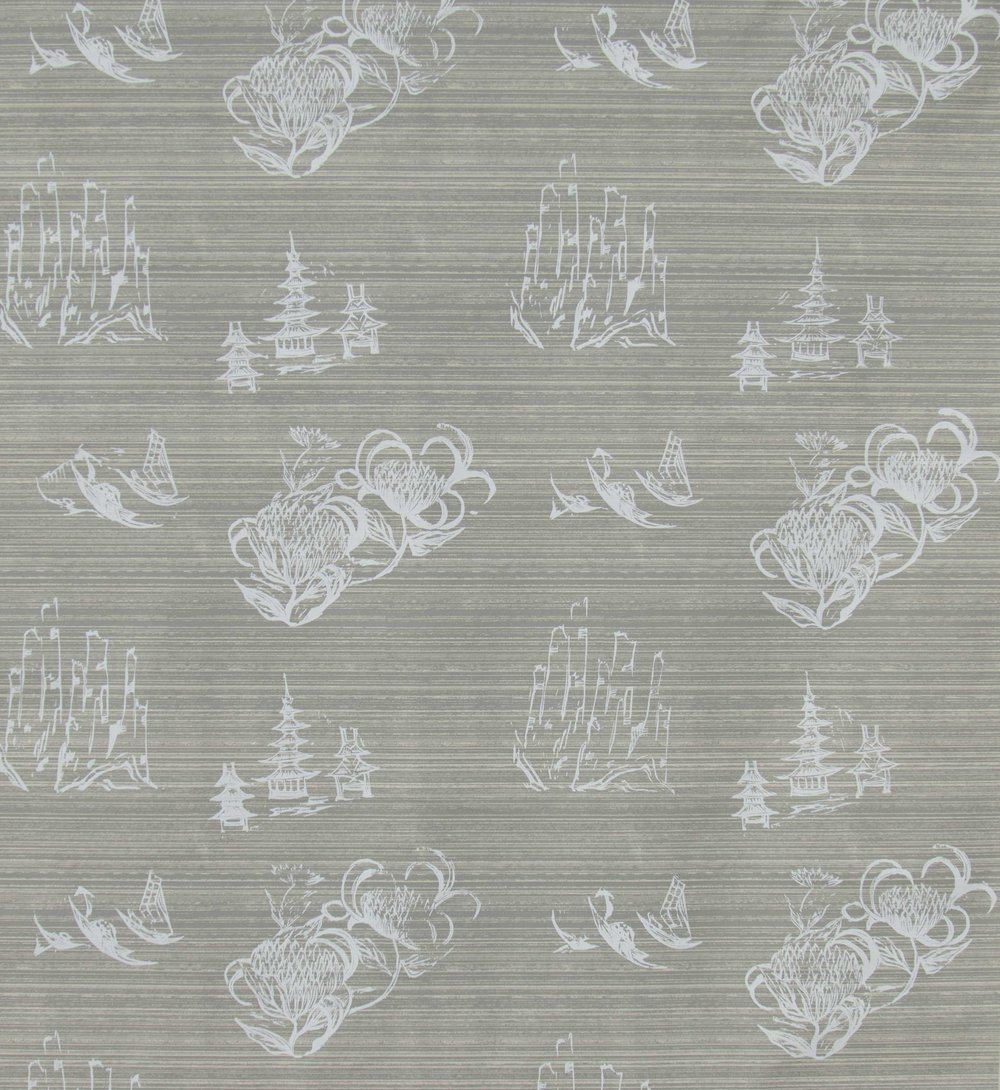 Toile in French Grey, SL110-04