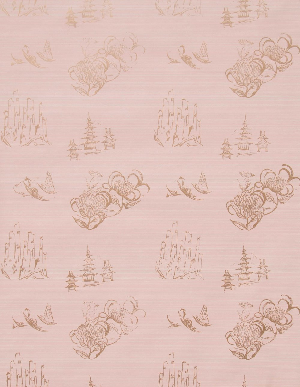 Toile in Blush, SL110-05