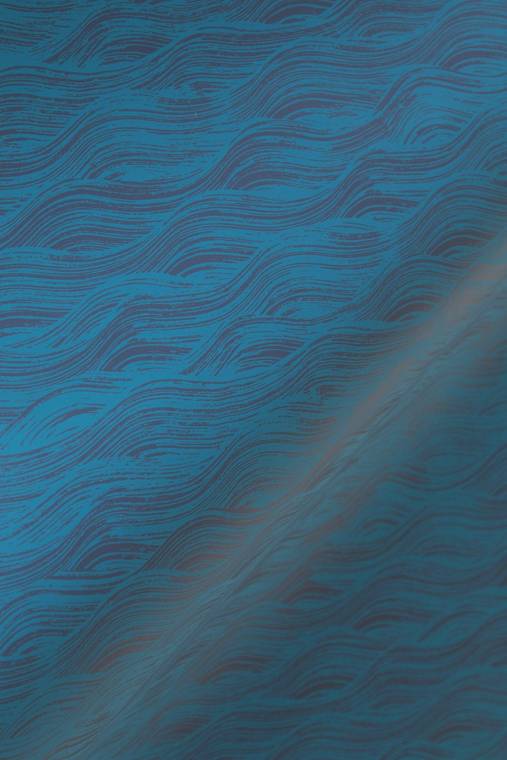 Painted Wave in Azure, SL160-01