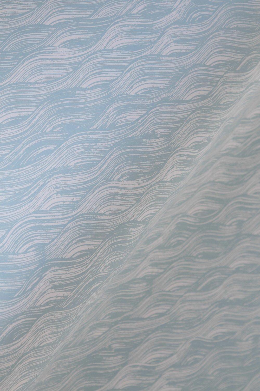 Painted Wave in Celadon, SL160-02