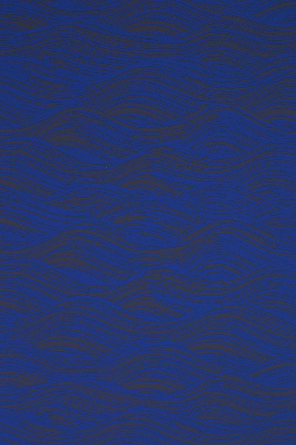 Painted Wave in Ultramarine, SL160-06