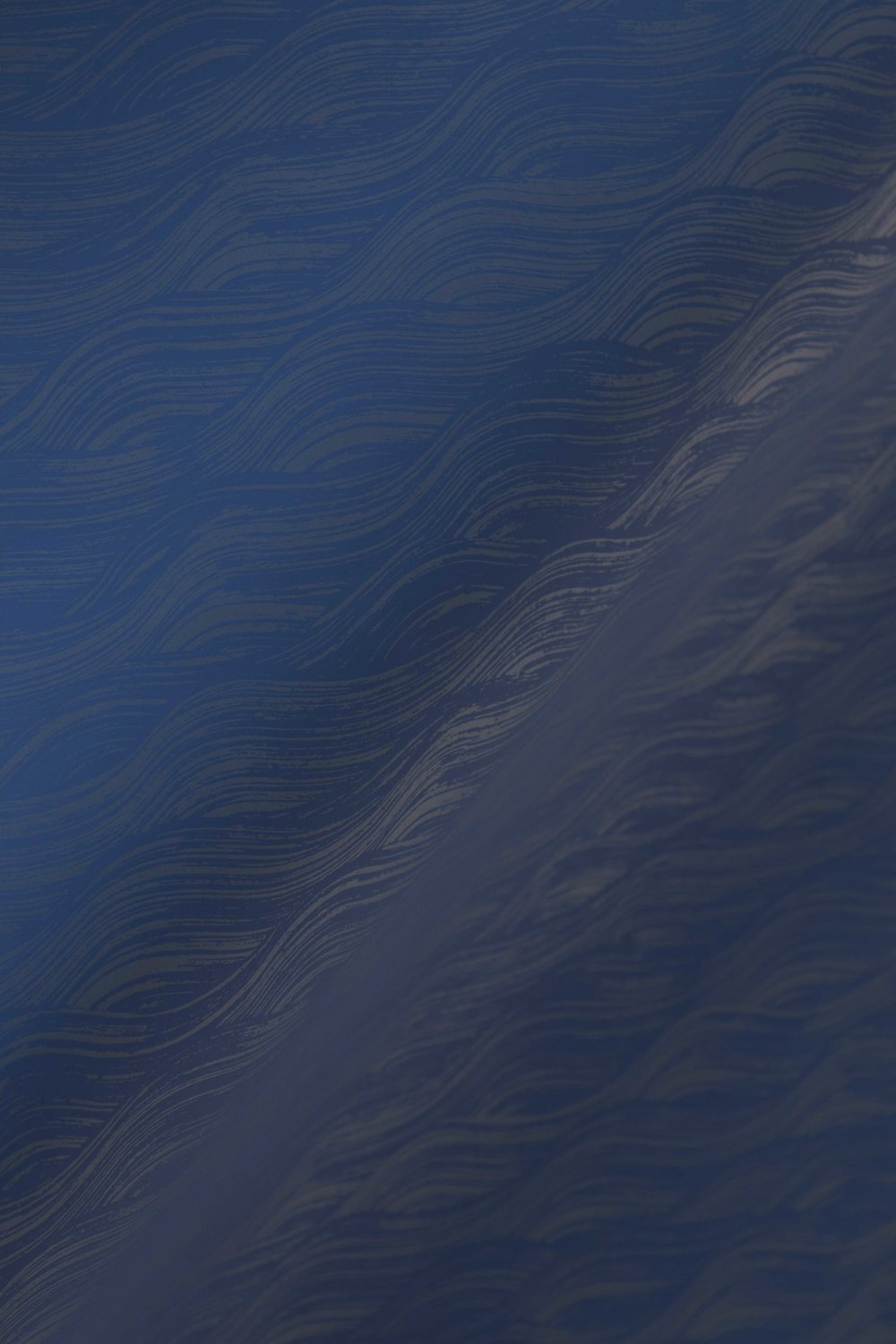Painted Wave in Navy, SL160-10
