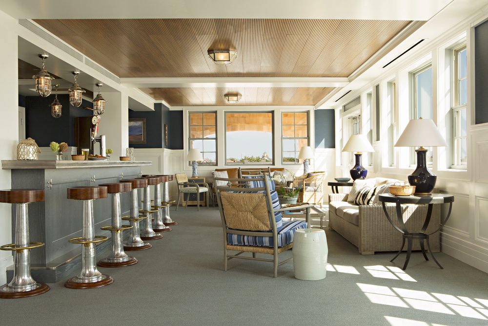 Painted Wave in Custom Navy featured in Architectural Digest