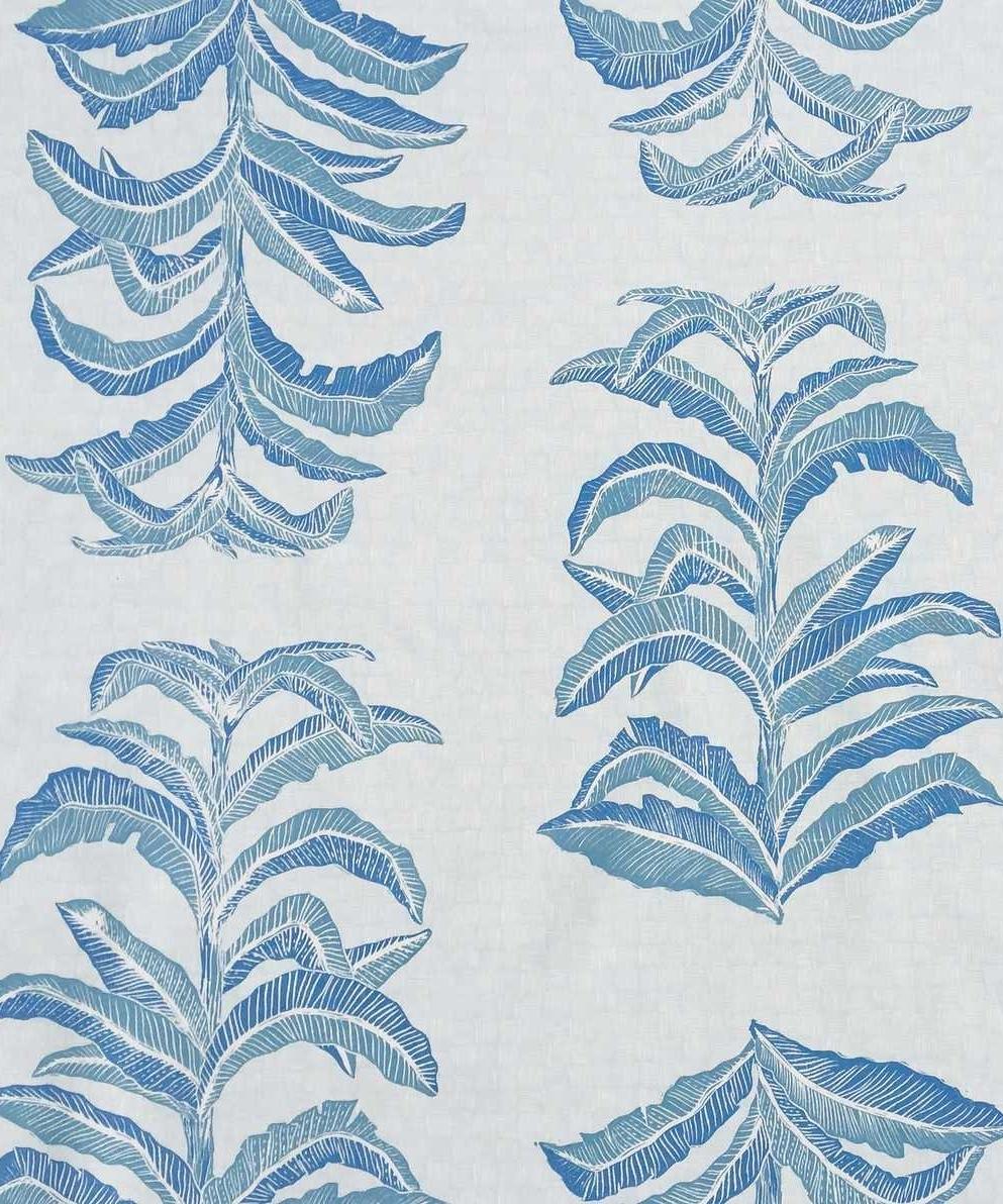 Banana Leaf in Sapphire, KF201-03