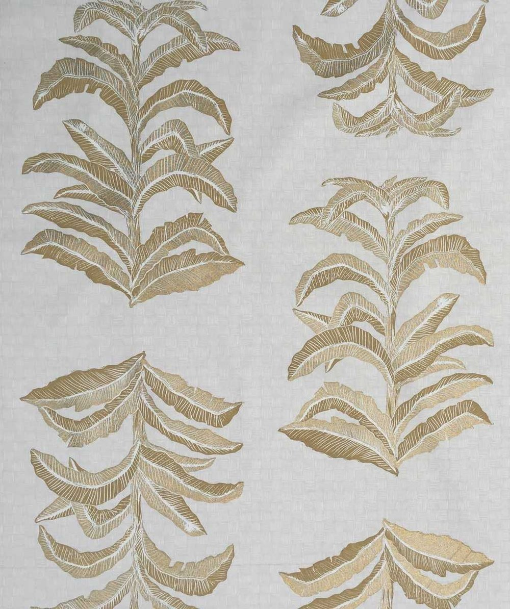 Banana Leaf in Gold, KF201-04