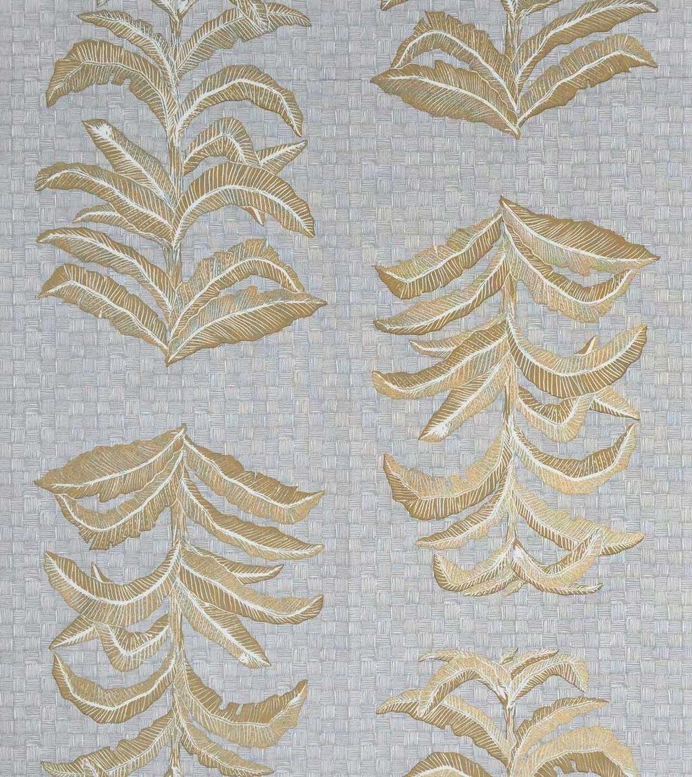 Banana Leaf in French Grey, KF201-05