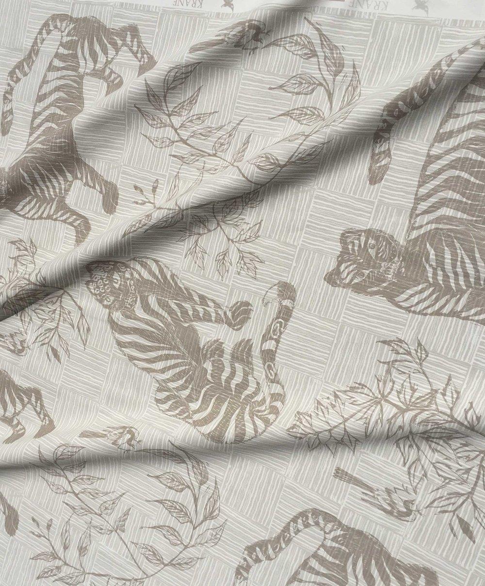 Tiger & Magpie Fabric in Dune