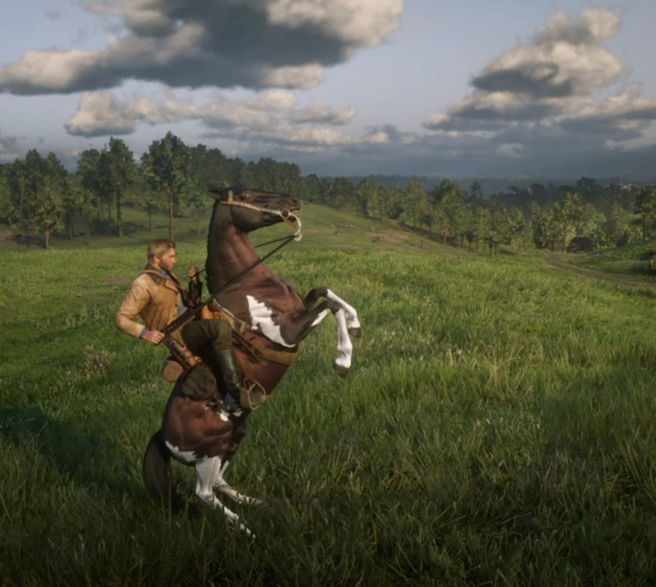 Dressage Moves in Red Dead Redemption II and their Real Life