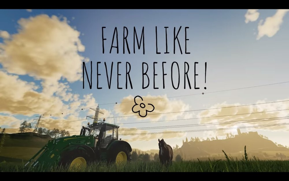 The  Tending to Animals  Gameplay Trailer makes Farming Sim look very cute.