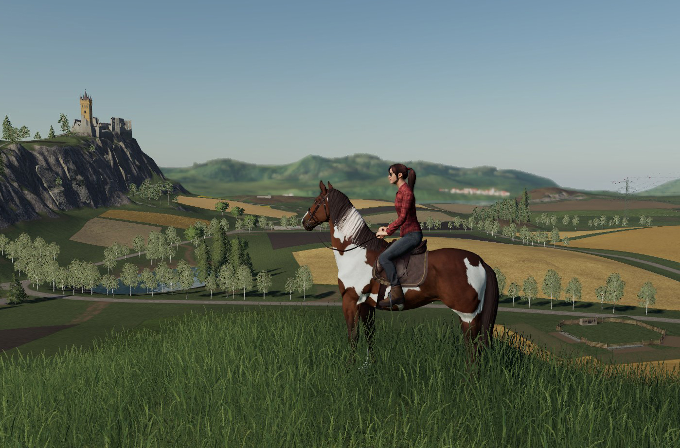 Farming Simulator 19 — Can Rideable Horses make the Tractor Driving