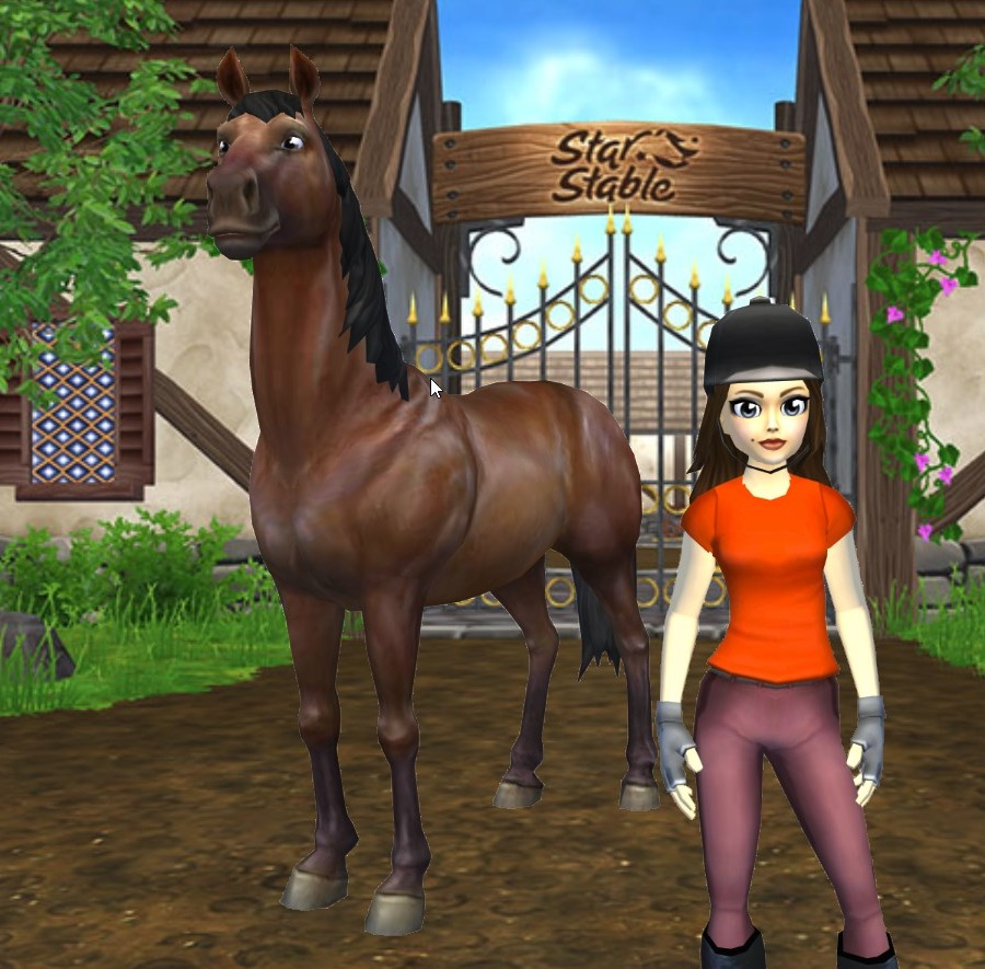 The old Jorvik Warmblood had slightly wonky legs, but it was the forward-facing eyes that really made me laugh.