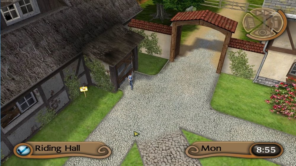 The My Riding Stables games have many of the desired features, but none of the polish and depth