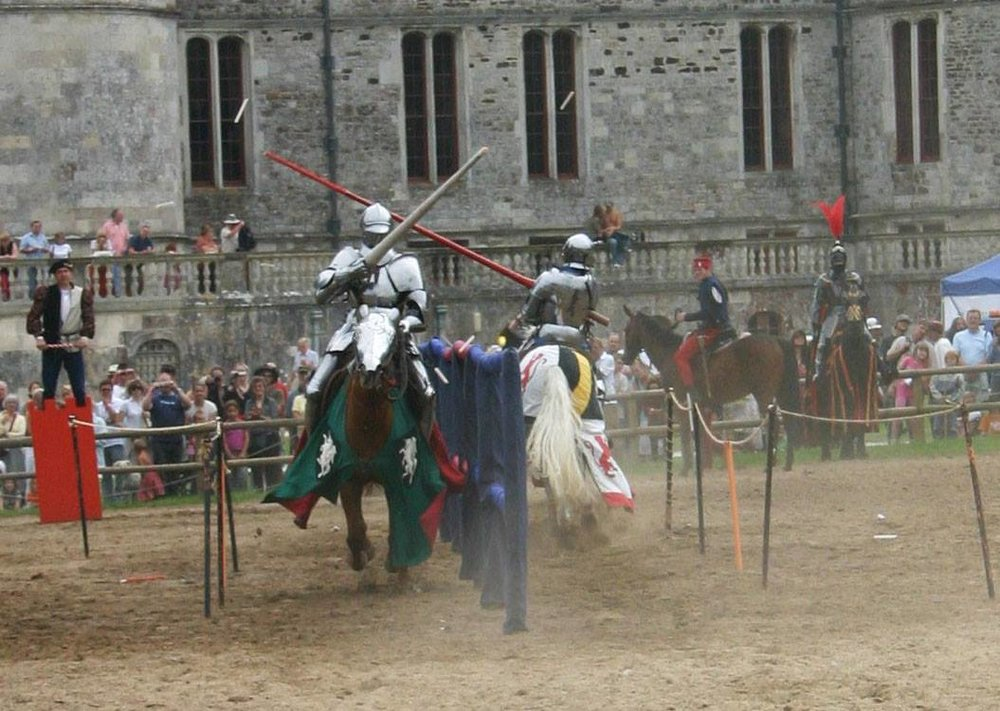 Any game about Knighthood should probably feature some jousting tournaments.