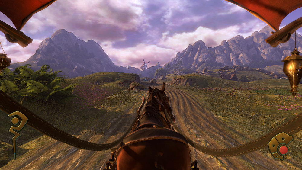 Fable: The Journey  actually put travel with a horse in its focus, but received mixed reviews for its motion controls.