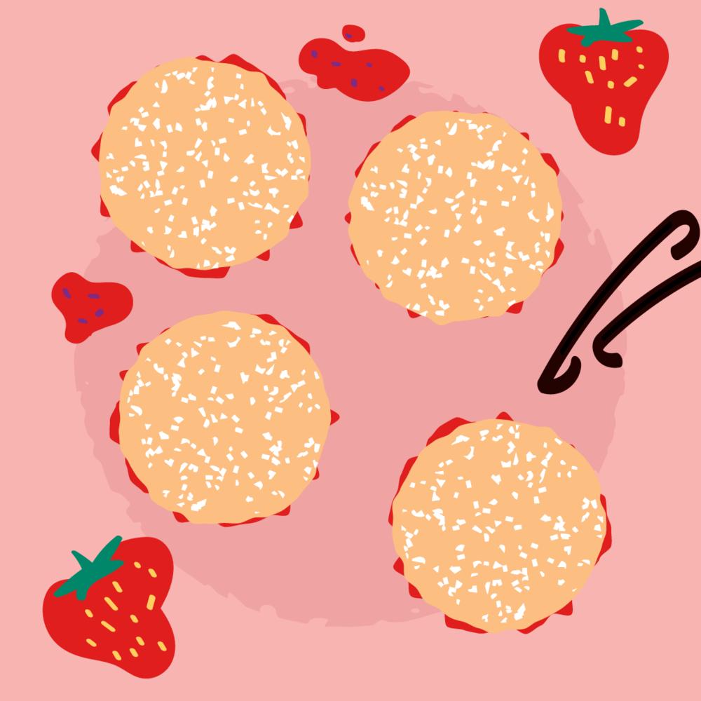 Cake Illustration Sponge