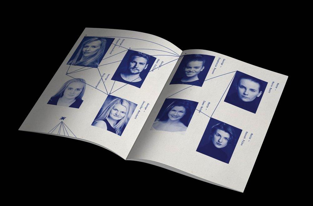 Moonlight Club Brochure design