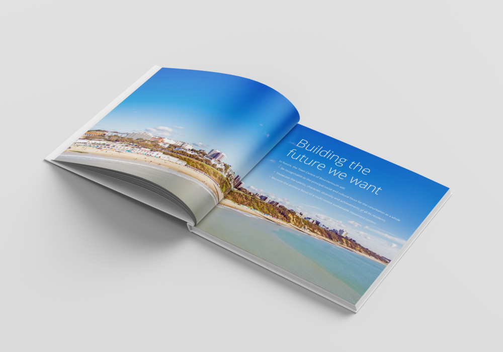 Bournemouth Vision Book Design