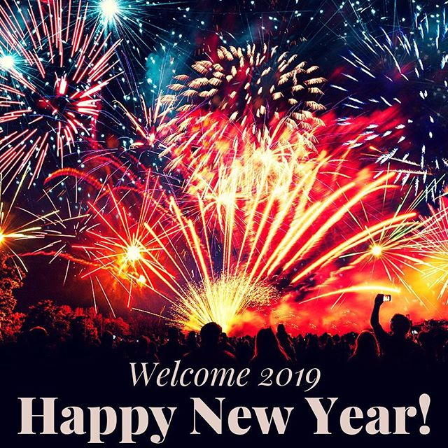 And another year begins... is it me, or does time seem to fly the older we get? #livewelldogood #newyearsday #welcome2019