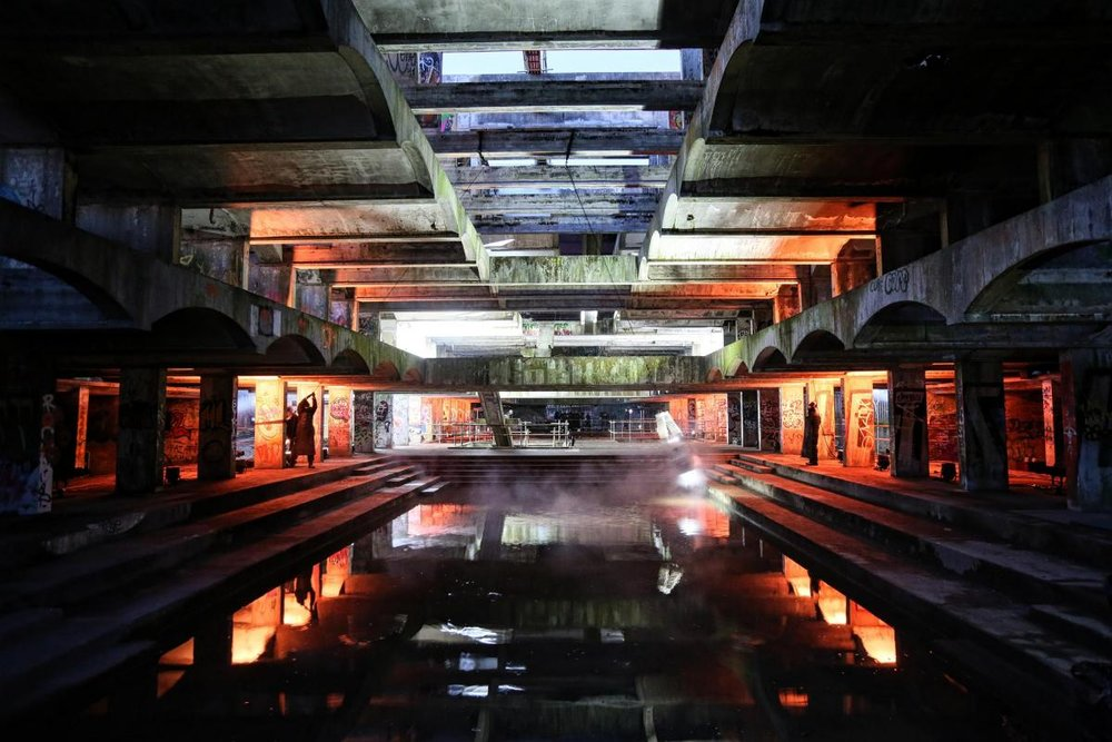 Hinterland at St Peter's seminary, Cardross.        Image by Colin Mearns