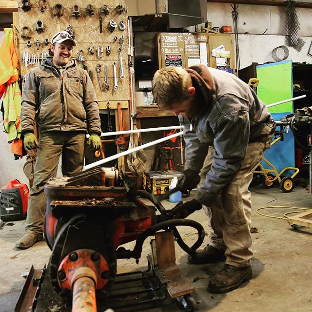 Did you know the combined age of our facilities equipment is 180 years O L D!!! This #givingtuesday would you consider partnering with us as we plan to replace this aging equipment so we can continue to keep Tall Timber beautiful? Even $5 goes a loooong way.  P.s. Kyle and Aaron are pure superheroes who deserve many high fives for their resurrection of this part for the snowcat. 🙌  https://talltimber.networkforgood.com/projects/63913-giving-tuesday-2018