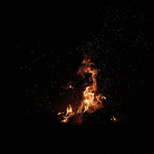 The campfire is a sacred place at camp. What does the campfire mean to you? What memories does it conjure?