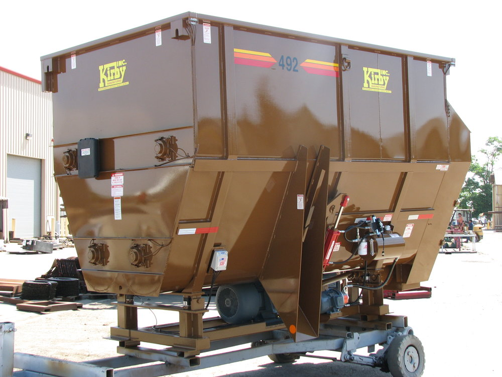 We are the industry standard in cattle feeding and dairy equipment. -