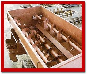 Horizontal mixers -