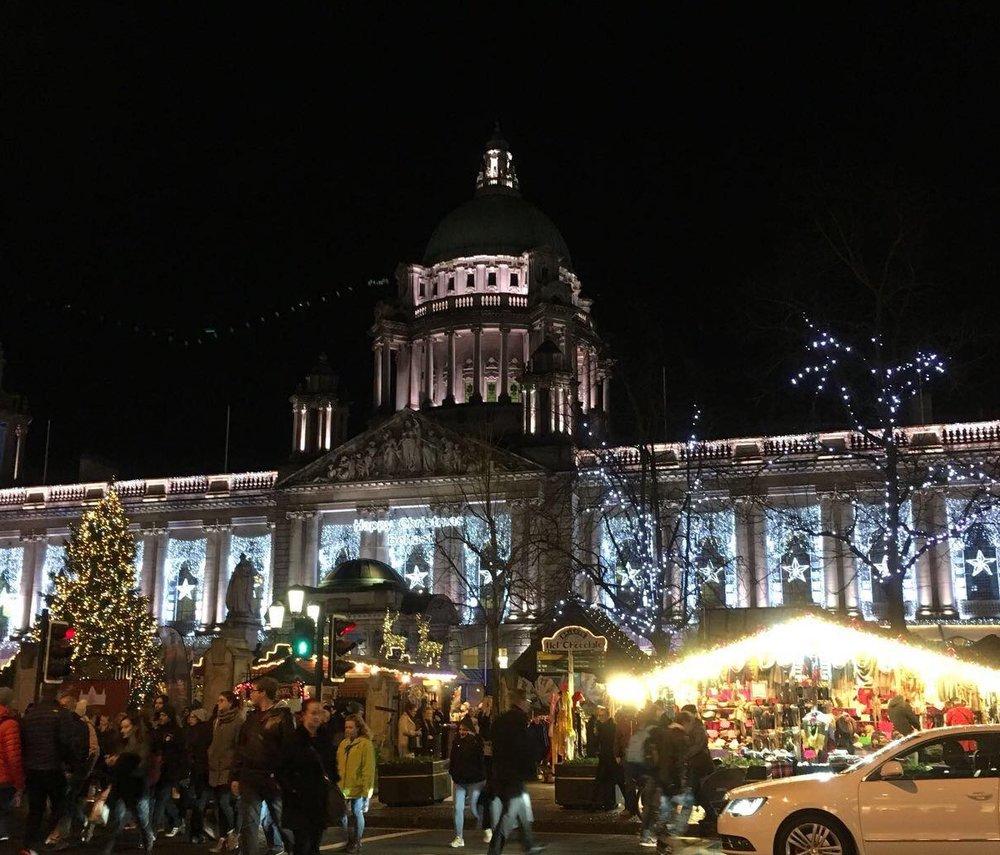 Belfast Christmas xmas market