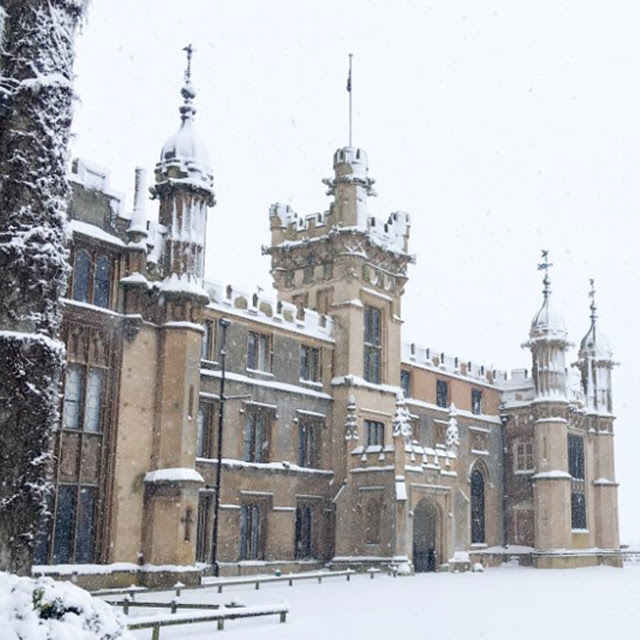 Knebworth house christmas fair