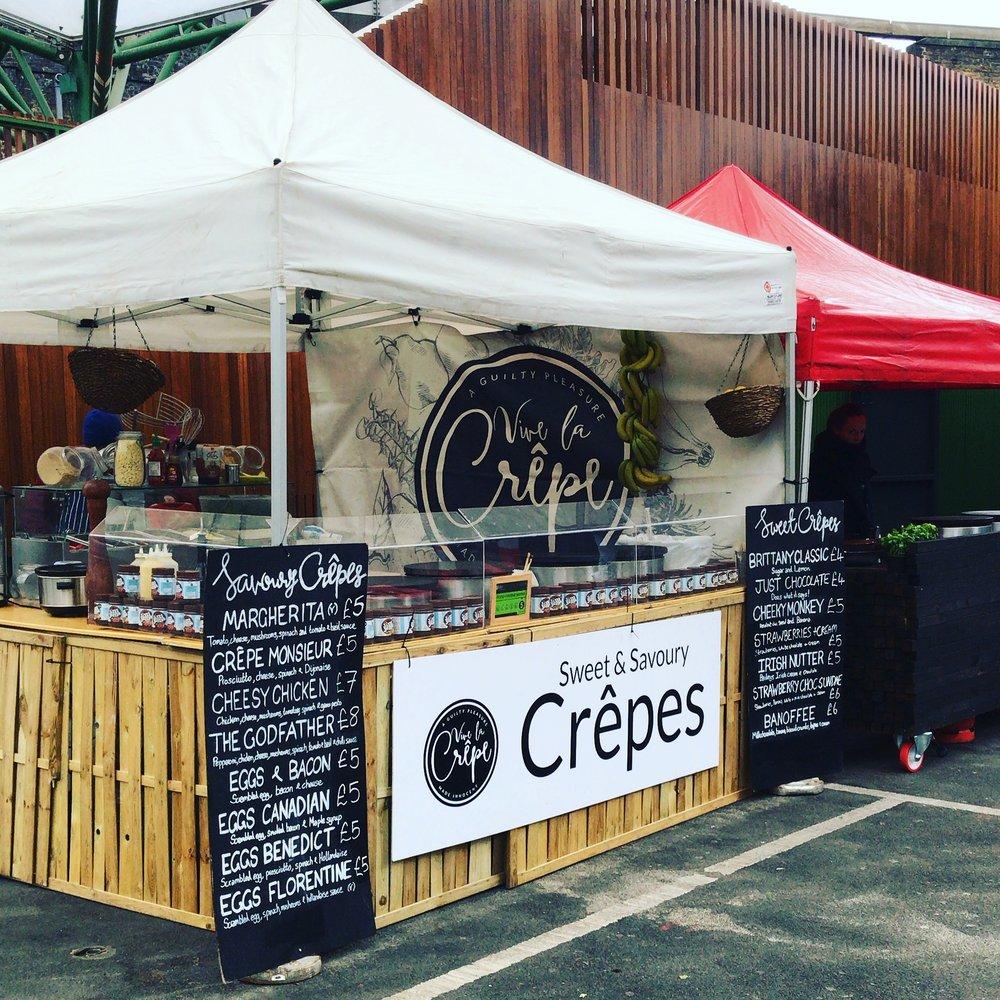 Vive La Crepe Borough market