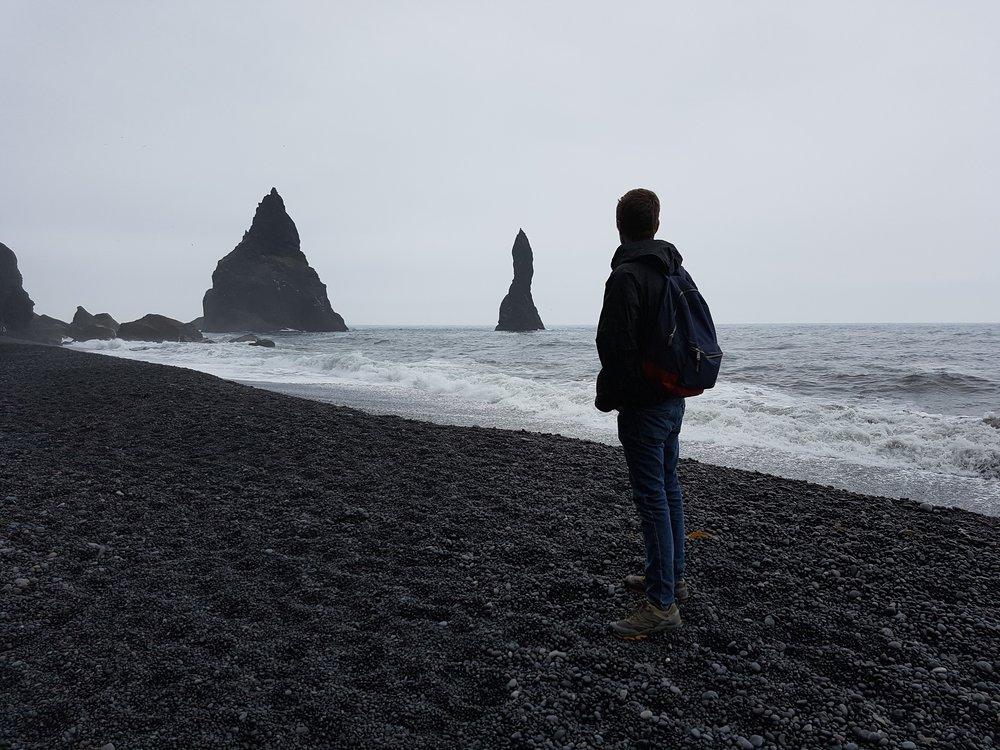 Black-sand Beach, Iceland. 2016.