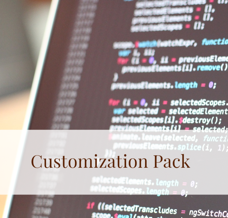 Introducing The One and Only Customization Consultation service pack - Spend an hour with Patrick and go over your project in detail. From there, Patrick will help optimize your scope so it can be clearly understand by development teams so you can get accurate quotes. Patrick will help negotiate with developers that work within your budget and will help negotiate the best best for you.