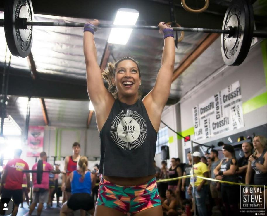 "Kristen - ""I don't know why people say I'm crazy when I workout""  Also Kristen *Smiles in the middle of an exercise while no one else has a pulse*  We love your ridiculous work ethic and tenacity  @knass !  PC:  @og.steve"