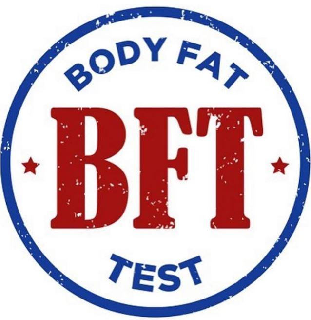The Body Fat Test will be here today! Same time slots as before. Thank you all for understanding!