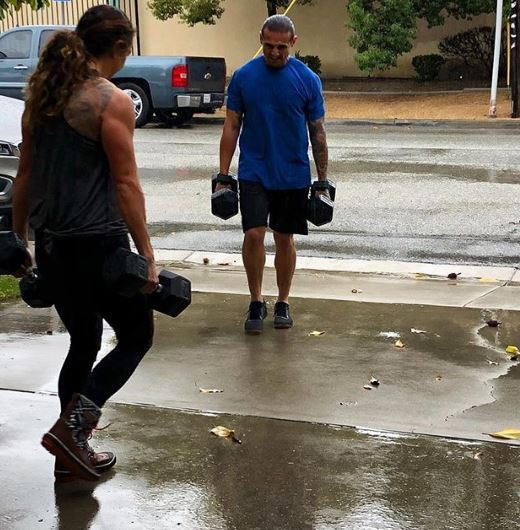 Little rain today... no problem rain boots and CrossFit