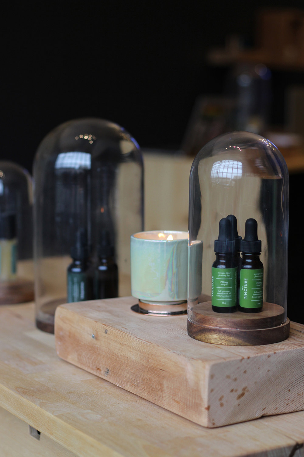 our tinctures are full spectrum, formulated at different potencies for all your needs. -