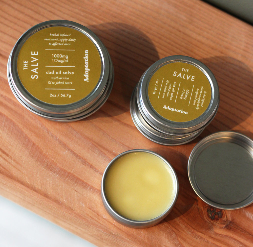 Our salves also work as a wonderful moisturizer! -