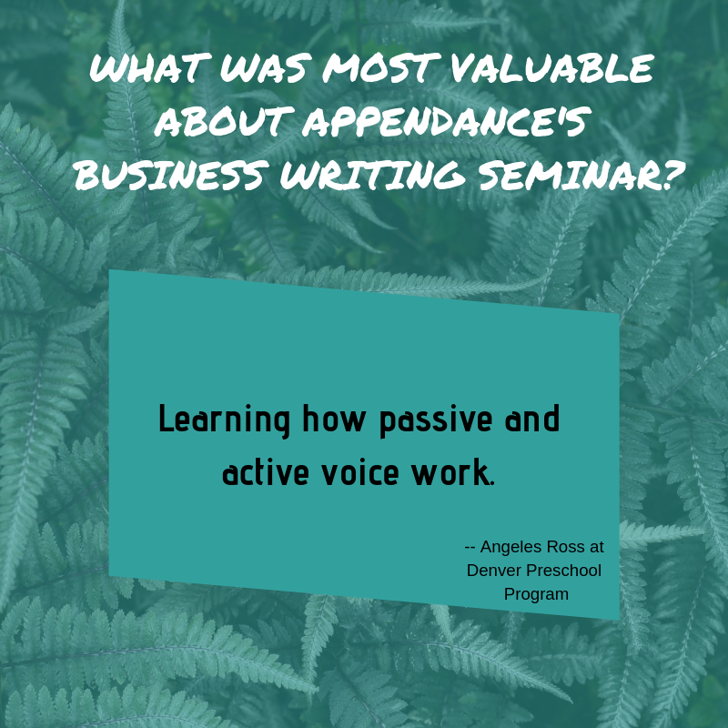 WHAT WAS MOST VALUABLE ABOUT APPENDANCE'S BUSINESS WRITING SEMINAR?-2.png