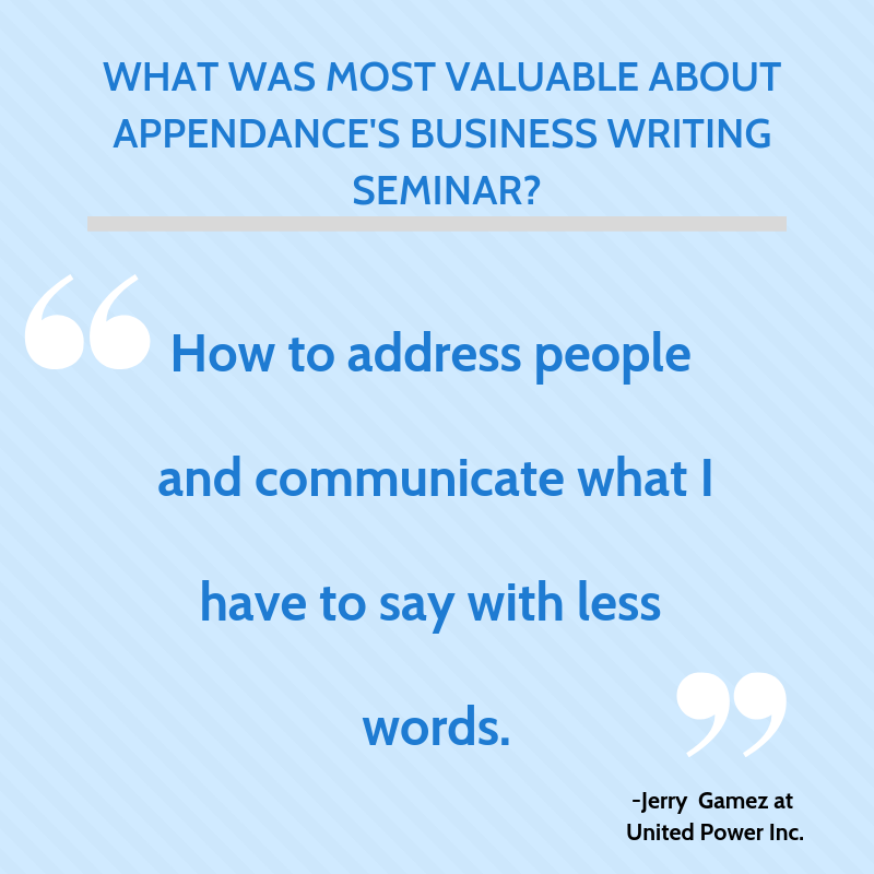 What was most valuable about Appendance's Business Writing Seminar?.png