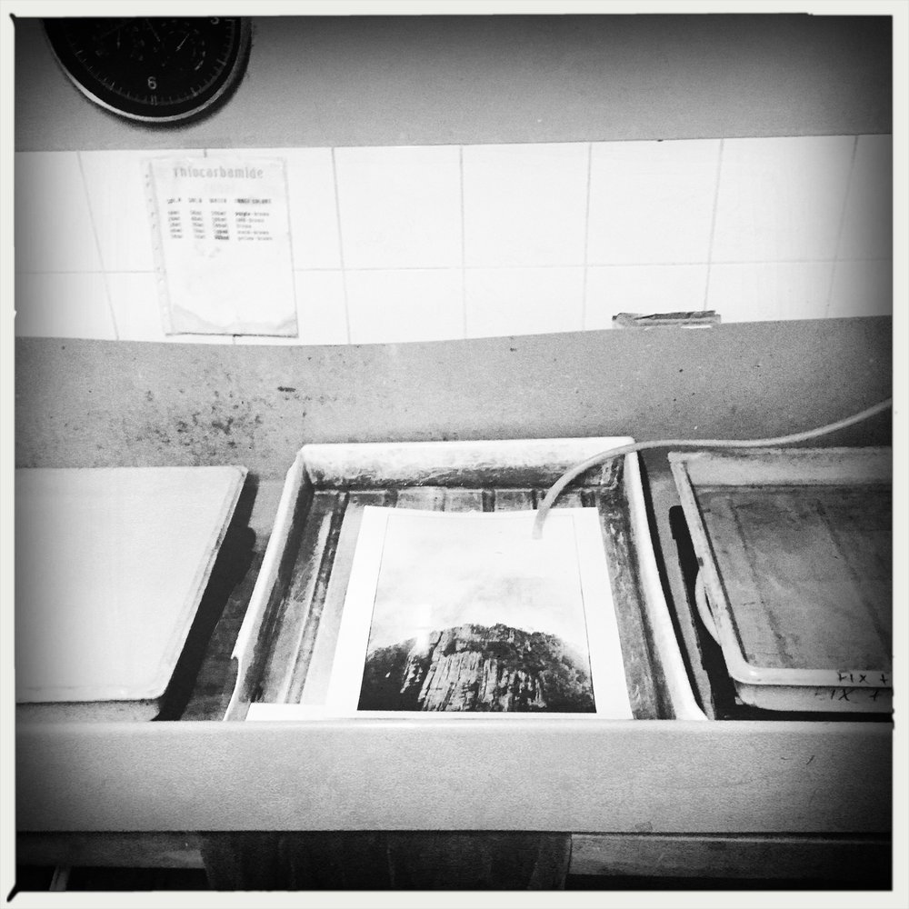 The Black and White Darkroom process -