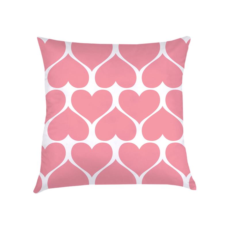 ALMOFADA CORAÇÕES (capa + recheio)   ROSA pink   50x50cm   R$169,00  COD:   KIDS_RS_0111   CApas podem ser vendidas separadamente - valor R$149,00