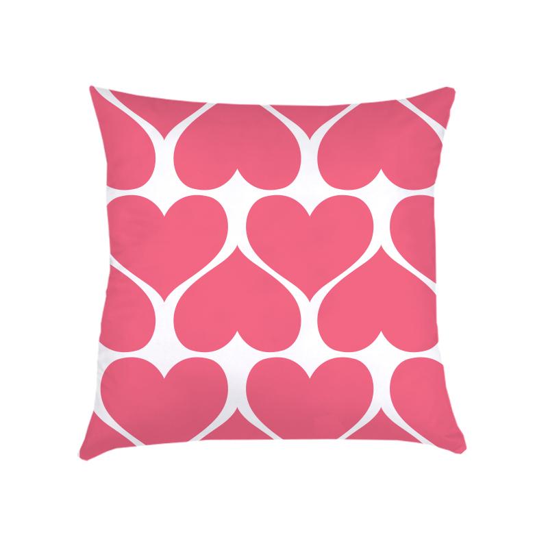 ALMOFADA CORAÇÕES (capa + recheio)   ROSA pink   40x40cm   R$152,00  COD:   KIDS_RS_0095   CApas podem ser vendidas separadamente - valor R$132,00